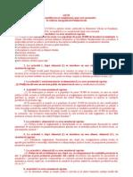 Proiect Modificare lege 2010