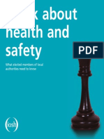 Setting Standard in Safety - IOSH Book by Safety First Training