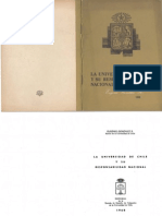 Eugenio González - La Universidad de Chile y Su Responsabilidad Nacional