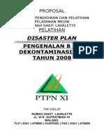 Proposal Disaster Plan 2008