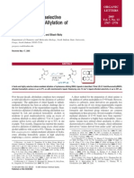 Enantioselective in Allylation