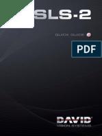 DAVID SLS 2 Quickguide en Web