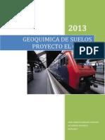Informe de estudio de suelos