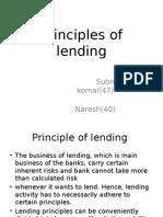 Principle of lending.pptx