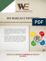 Apresentação We Marcas e Patentes
