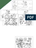 La Creacion Dibujos