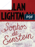 Sonhos de Einstein - Alan Lightman