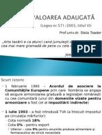 Taxa Pe Valoarea Adaugatu0102 - Cursul 6