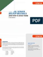 Mistérios Backup SQL Server