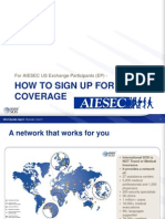aiesec - international sos sign up guide
