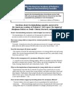 AAP Decriminalization Report