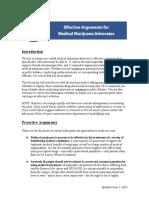 Effective Arguments for Medical Marijuana Advocates