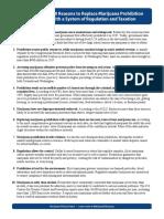 Top Ten Reasons to End Marijuana Prohibition