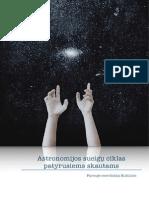 Astronomijos sueigų ciklas patyrusiems skautams