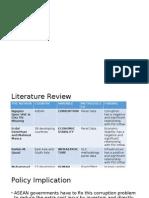 LR, Policy Imp, Recommendation, Limitation
