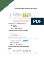 Calculo de Tasa Optima de Glicol