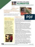 RESPUESTA DEL GOBIERNO ANTE LOS BROTES EPIDÉMICOS DE ENFERMEDADES DE TRANSMISIÓN ALIMENTARIA