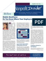 Nonprofit Insider - May 2015
