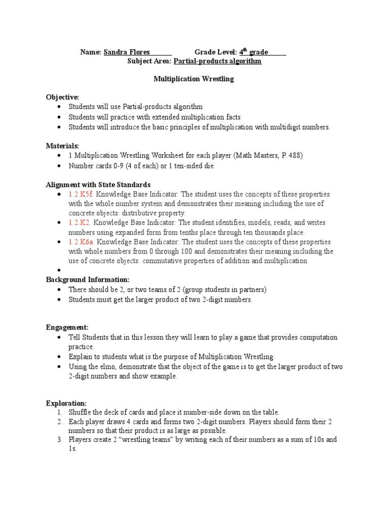 Multiplication Wrestling Multiplication Physics Mathematics