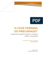 A Face Feminina Do Precariado ISABEL SOARES 2015