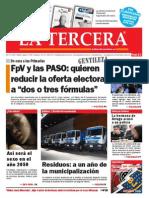 Diario La Tercera 06.05.2015