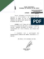 TJSP 990.10.105855-3 Estado de Necessidade