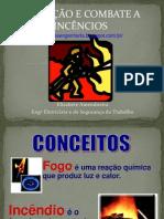 prevenção e combate a incendios
