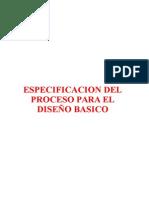ESPECIFICACIÓN DEL PROCESO PARA EL DISEÑO GRÁFICO