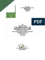 Habeas Data Perú