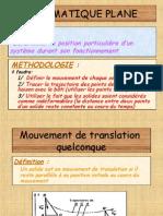 M2 - Cours 02 Cinematique Plane - Mouvements Et Trajectoires