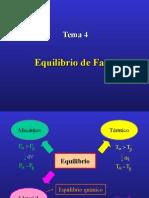 Equilibrio de Fasesequilibrio de fases