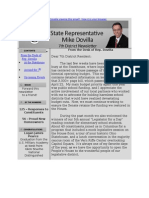 House District 7 May Newsletter