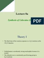 Chem 30CL-Lecture 8a Lidocaine 3