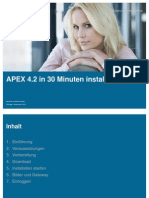 MT AG - Installation APEX 4.2