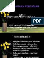 Bab 5 Lembaga Pertanian