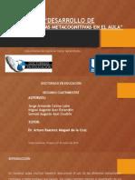 PROTOCOLO HABILIDADES METACOGNITIVAS EN EL AULA