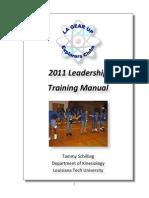 Leadership Manual 2011