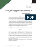 Duhau y Giglia_Nuevas Centralidades y Prácticas de Consumo en La CD. de Méx. Del Microcomercio Al Hipermercado-2007