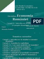 Curs1.EconomiaRomaniei