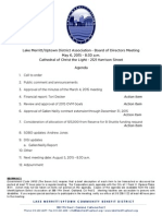 LMU Board Meeting May 6, 2015 Agenda Packet