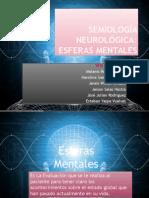 Esferas mentales (SEMIOLOGÍA)