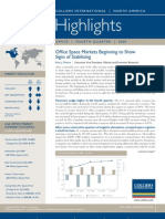 North America Office Highlights 4Q 2009
