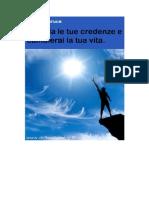 Danilo Maruca - Cambia Le Tue Credenze e Cambierai La Tua Vita