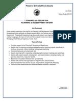 FPCC Planing and Development Intern