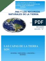 DIAPOSITIVA DE LA CAPA Y LOS RECURSOS NATURALES DE LA TIERRA.pptx