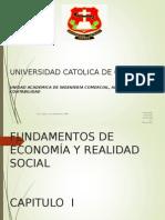 Materia de Fundamentos de Economia Capitulo i