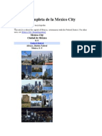 Historia Completa de La Ciudad de México