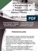 Teori Akuntansi CE Kelompok 9