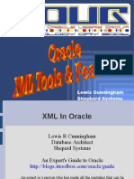 Lewis Cunningham-Oracle XML