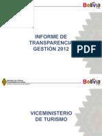 Informe de Tranparencia Vicemenisterio de Cultura